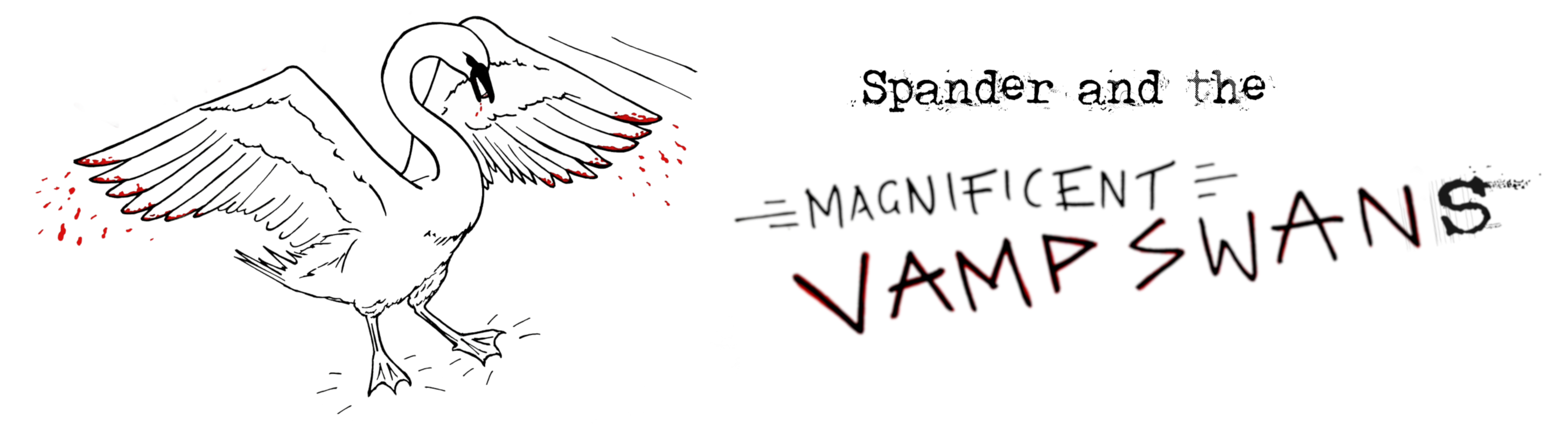 Spander and the Magnificent Vampswans